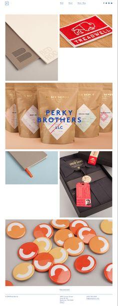 Perky Bros llc Branding & Design webdesign