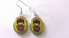 Very cute geisha girl earrings - The Supermums Craft Fair, only one pair available & just £2.00 xx
