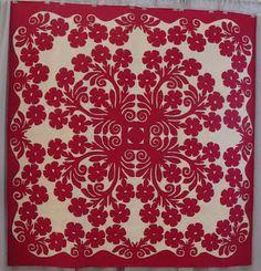Anna's Blog: Hawaiian Quilt Show