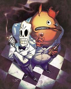 Grim Fandango by Bisart on deviantART