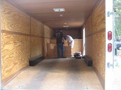 OUR CARGO TRAILER CONVERSION TO TOY HAULER TRAVEL TRAILER