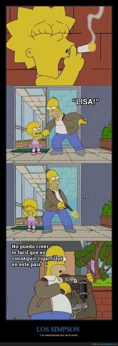La brutal crítica de los Simpson a la sociedad americana