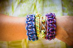 DIY: rope bracelets