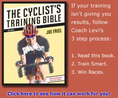 The Cyclist's Training Bible by Joe Friel Book Review