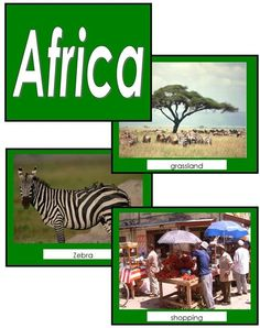 Image Folder of the Continent Africa