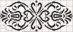 Cross Stitch Tattoo, Cross Stitch Embroidery, Embroidery Patterns, Cross Stitch Designs, Cross Stitch Patterns, Graph Paper Art, Crochet Bikini Pattern, Crochet Dollies, Fillet Crochet