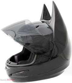 Fight Evil On Your Motorcycle - Dark Knight (Batman) Helmet from ...