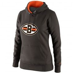 Browns Women's Tailgater PO Hooded Sweatshirt