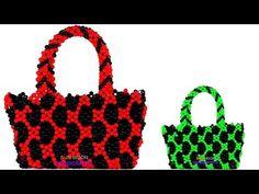 7b5b6154b48 পুতির ব্যাগ/ How to make beaded new design bag/ Unique bag/ beaded bag with  easy tutorial