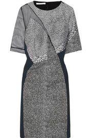 Antonio BerardiPaneled woven dress