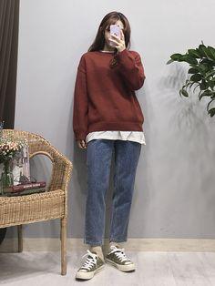 Korean Fashion Trends you can Steal – Designer Fashion Tips Korean Fashion Trends, Korean Street Fashion, Korea Fashion, Asian Fashion, Fashion Pants, Girl Fashion, Fashion Outfits, Fashion Design, Aesthetic Fashion