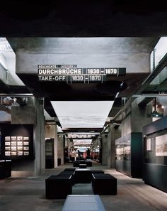 Ruhr Museum Museum Design: HG Merz Architects (refurbishment coal-washing plant): Heinrich Böll + Hans Krabel, Essen / Office for Metropolitan Architecture (OMA), Rotterdam