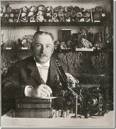 Edward Connold,was a grocer by trade, but also an amateur Edwardian naturalist who had several books published.