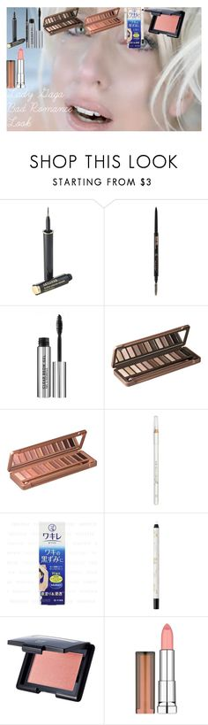 """""""Lady Gaga Bad Romance Look"""" by oroartye-1 on Polyvore featuring beauty, Lancôme, Anastasia Beverly Hills, Urban Decay, Barry M, shu uemura, e.l.f. and Maybelline"""