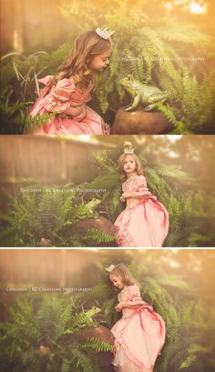 The Princess & The Frog www.kccreationsphotography.com
