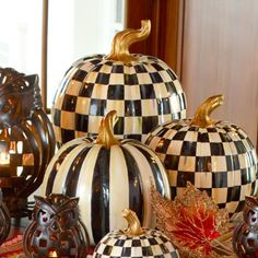 MacKenzie-Childs - Courtly Check Pumpkin - Large