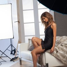 Laze around the house in style with our gorgeous Opulence Slip! www.intimo.com.au
