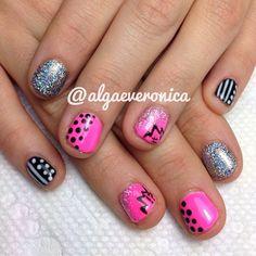 Instagram photo by algaeveronica #nail #nails #nailart