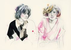 the breakfast club.  Ally Sheedy and Molly Ringwald
