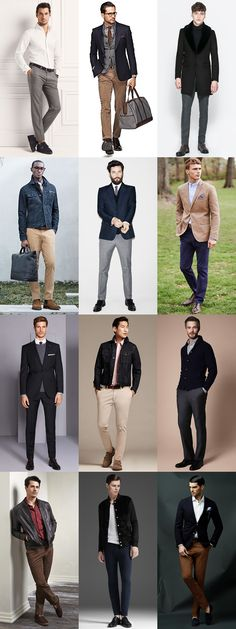 Men's Well-Fitting Clothing Lookbook - It goes without saying, but everything you wear should fit properly.