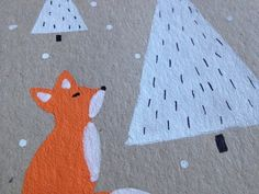Little fox in a christmas card - Paperikaupan tyttö - Blogi | Lily.fi