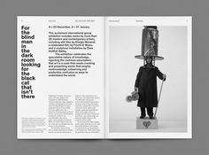 ICA monthly guide — Studio Frederic Tacer - Informations About ICA monthly guide — Editorial Design Layouts, Editorial Design Magazine, Magazine Layout Design, Graphic Design Layouts, Book Design Layout, Print Layout, Magazine Layouts, Newspaper Design Layout, Design Posters