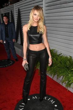 Candice Swanepoel Photos: Arrivals at Maxim's Hot 100 Women Event