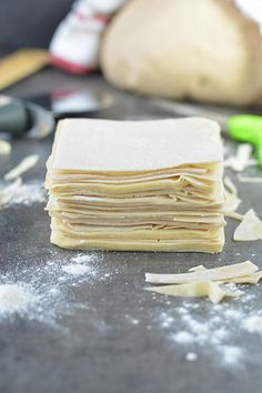 How To Make Homemade Spring Roll Wrappers, easy way to make homemade spring roll sheets,Eggless wonton wrappers, egg free wonton wrappers, Wonton wrappers Spring Roll Wraps, Egg Roll Wraps, Homemade Spring Rolls, Homemade Egg Rolls, Egg Roll Recipes, Wrap Recipes, Egg Roll Dough Recipe, Noodle Recipes, Quick Recipes