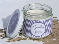 Breathe Soy Candle for your Eco Chic Spa or by ViVOSpaBoutique, $20.00