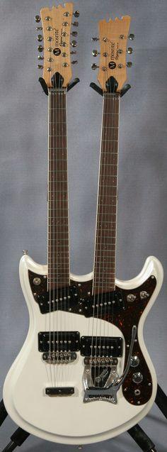 Mosrite Double Neck Guitar, Ed Roman Guitars