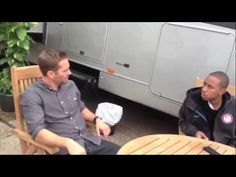 """""""FAST 6"""" BTS Tyrese Confronts Paul Walker"""