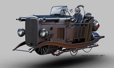 HOVER FORD 32 by Jomar Machado   Transport   3D   CGSociety