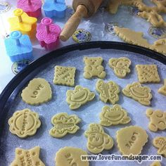 Sugar Art, Biscuits, Snacks, Cookies, Baking, Link, Sweet, Desserts, Food
