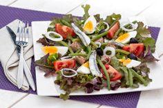 On revisite la salade niçoise pour ses convives!