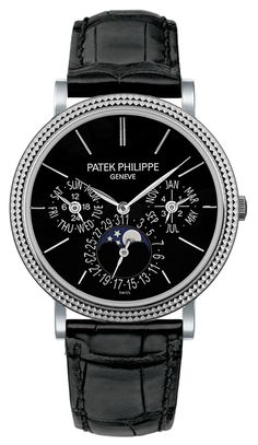 Patek Philippe [NEW] Grand Complications White Gold Mens 5139G-010 (Retail:HK$635,700) ~ JULY SPECIAL: HK$465,000.