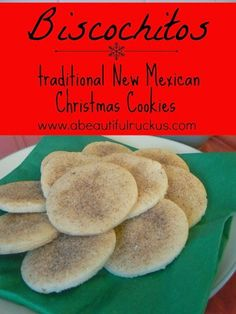 Biscochitos: Traditional New Mexican Christmas Cookies