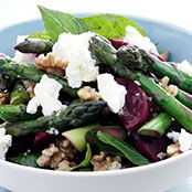 Free beetroot, asparagus and feta salad recipe. Try this free, quick and easy beetroot, asparagus and feta salad recipe from countdown.co.nz.