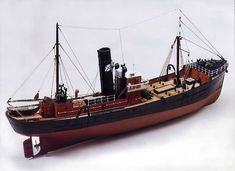 Caldercraft Milford Star - Side Trawler 1:48 Scale RC Radio Control Model Boat Kit Cornwall Model Boats Ltd