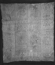 Tristan and Isolde Quilt ca. 1360 A.D.