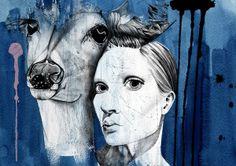 My Deer Art Print by Mia Hawk | Society6