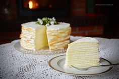 Layer cake Marcinek-Get your hourly source of sweet. Holiday Desserts, No Bake Desserts, Delicious Desserts, Polish Desserts, Polish Recipes, Polish Food, My Favorite Food, Favorite Recipes, Sweets Photography