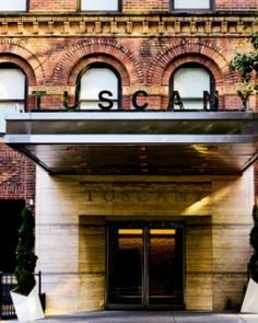 The Tuscany - A St Giles Hotel (New York City, New York) - #Jetsetter. Renovated (former) W Hotel; just 124 rooms and close to Grand Central.