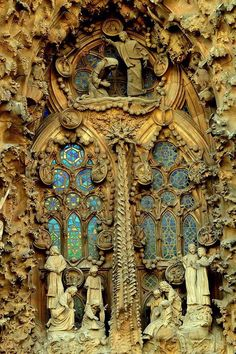 Sagrada Familia, Barcelona, Spain...