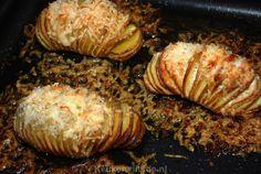 Feestelijk bijgerecht: Hasselback aardappels