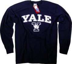 Amazon.com: Yale Shirt T-Shirt Sweatshirt Hoodie University Pennant Hat Bulldogs Apparel: Clothing