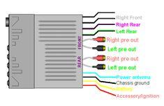 Pioneer Stereo Wiring Diagram Pioneer car audio, Pioneer