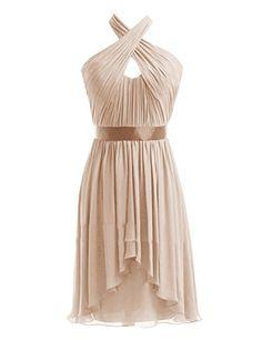 Diyouth Halter High-low Chiffon Short Bridesmaid Dress Champagne Size 14 Diyouth http://www.amazon.com/dp/B00LQN1V0S/ref=cm_sw_r_pi_dp_ieP9tb14R04X0