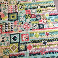 Splish Splash Stash: gypsy wife quilt - liz gellert's tula pink version