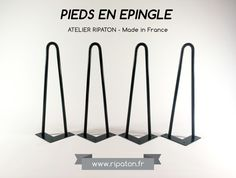 Hairpin legs / Pieds en épingle Made in France - ripaton.fr