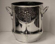 Art Nouveau Jugendstil Orivit silver plate Wine Cooler or Planter, Germany, C.1900.